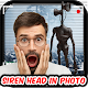 Siren Head Camera Photo Editor
