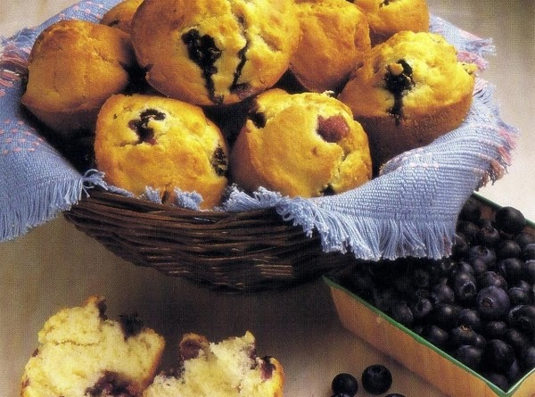 Blueberry Muffins (microwave Version) Recipe