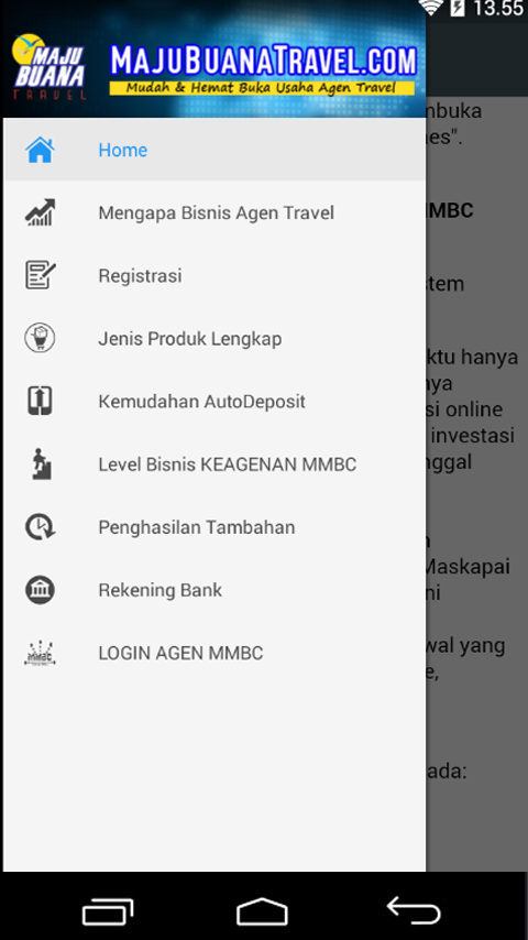 MajubuanaTravel.com- screenshot