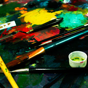 paint by Matsah's Son - Artistic Objects Other Objects