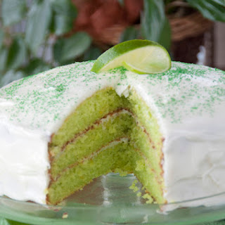 Triple Layer Key Lime Cake