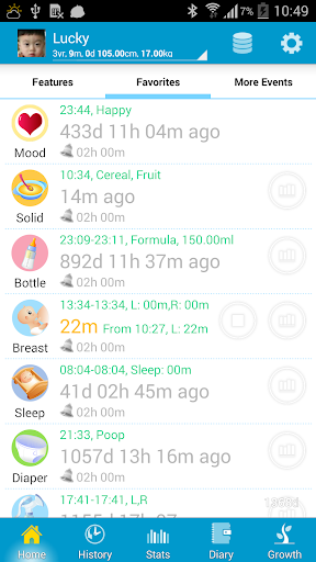 Baby Care screenshot for Android