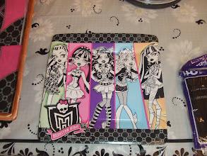 Photo: Monster High plate