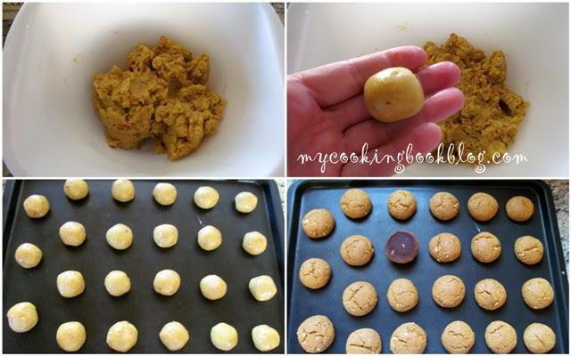 Бисквити с фъстъци, зехтин и портокал (постни)