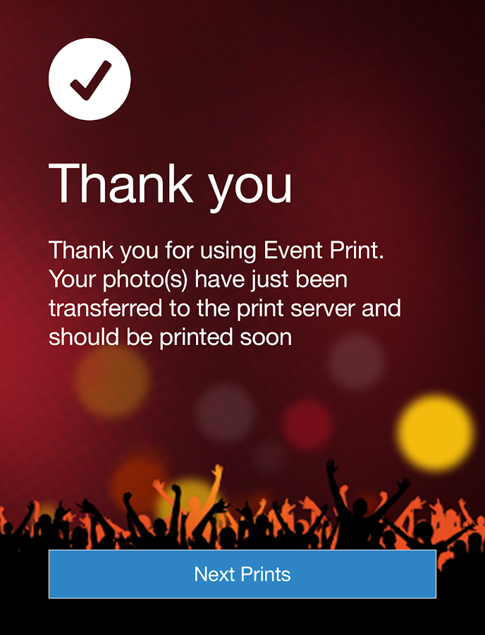 Event Print- screenshot