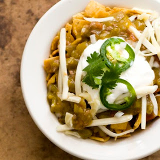 Green chile Frito pie