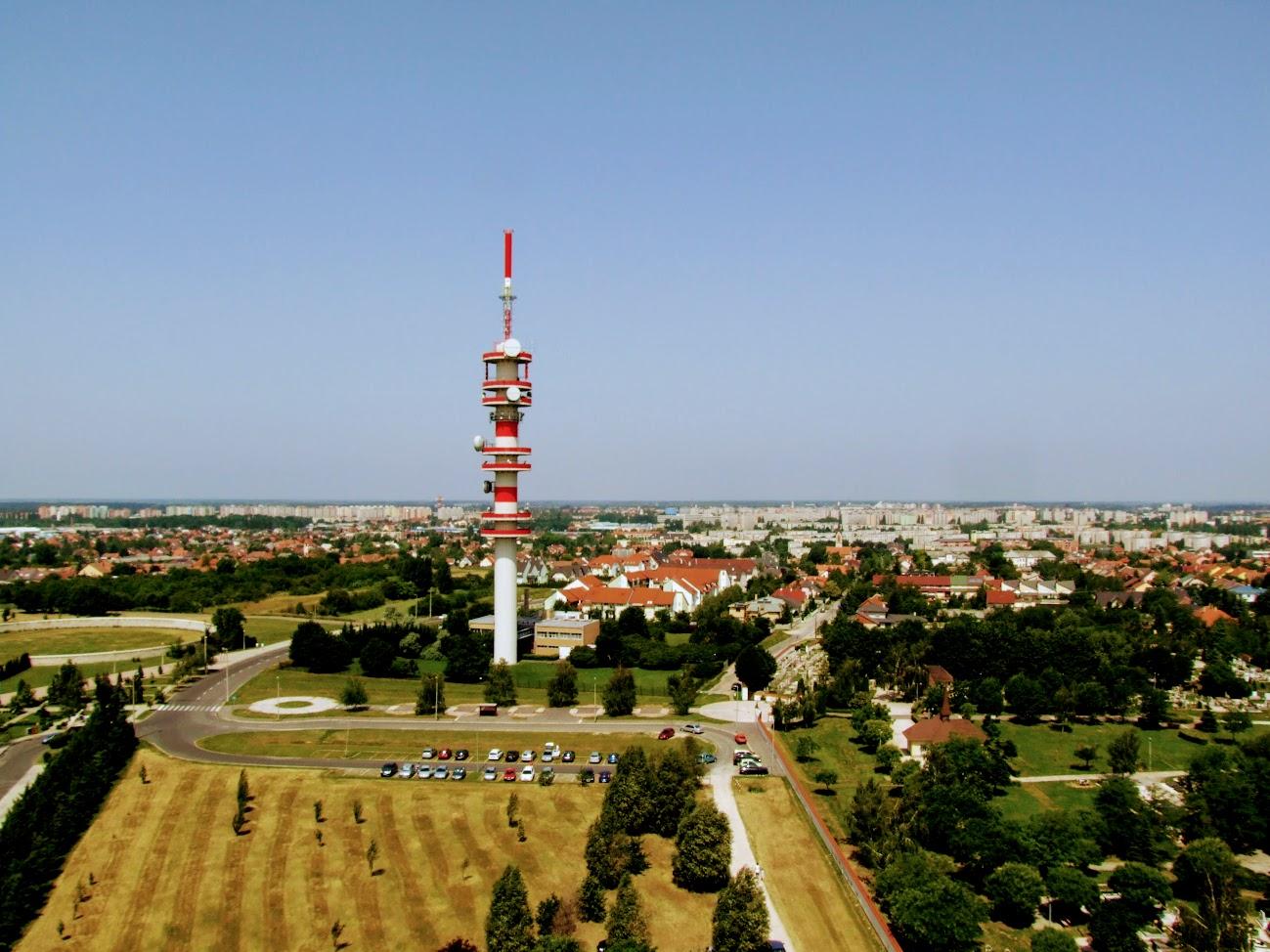 Győr/Szabadhegy - TV-URH gerincadó állomás