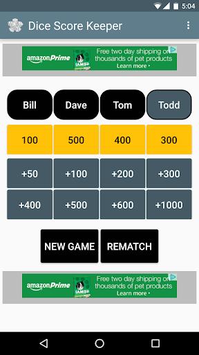 Dice Score Keeper apklade screenshots 1