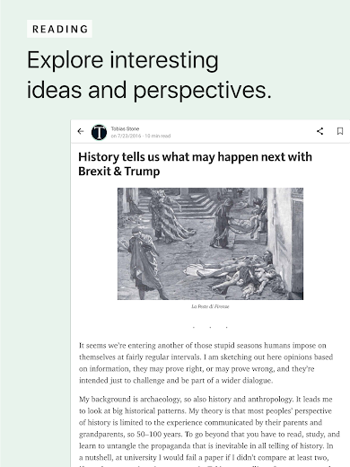 Screenshot 10 for Medium's Android app'