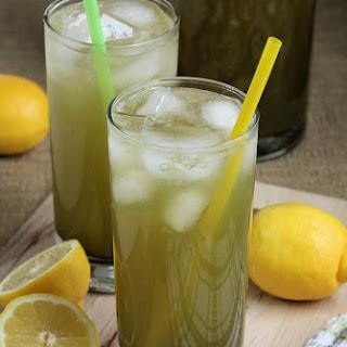 Green Tea Lemonade.