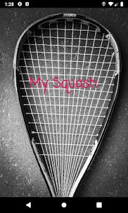 My Squash NZ - náhled