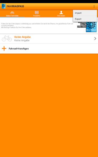 Fahrradpass 2.1.1 screenshots 7