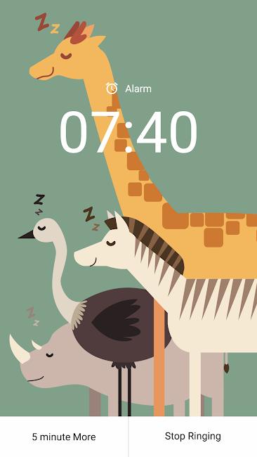 #4. Savanna Alarm (Android)