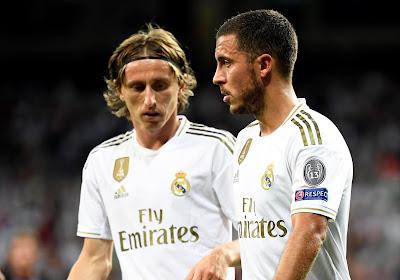 Eden Hazard traint opnieuw met de bal