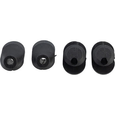 Problem Solvers Bubs 6 x 6mm Di2 Frame Plug with Hole, Bag of 4