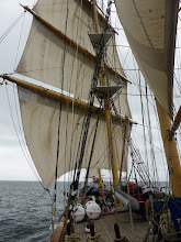 Photo: We sailed off the mooring and out past Black rock