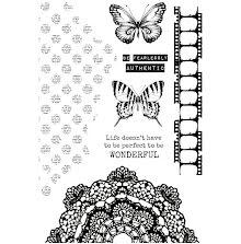 Kaisercraft Clear Stamps 6X4 - Scrap Studio