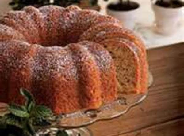 Banana 'n' Cream Bundt Cake Recipe