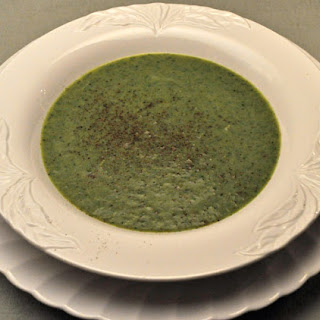 Asparagus, Spinach and Leek Soup