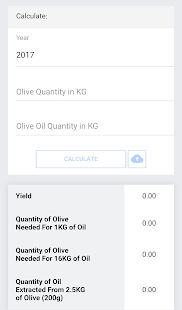 Olive Oil Production Tracker - náhled