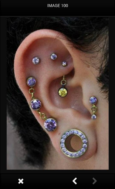 ear piercing ideas android apps on play