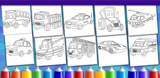 Coloring For Kids - Vehicles - Aplicaciones en Google Play