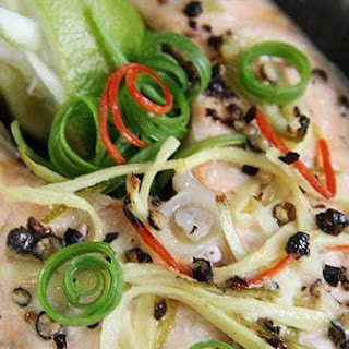 Baked Salmon with Lime Recipe