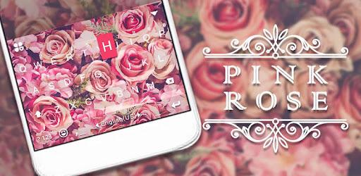Приложения в Google Play – Тема для клавиатуры <b>Pink Rose</b> от