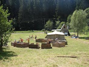 Photo: Naše tábořiště.