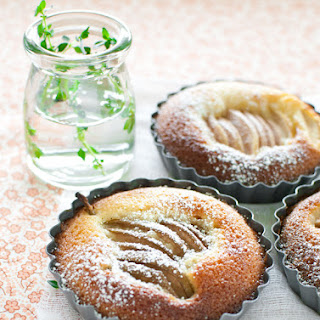 No Pastry Pear Tarts Recipe