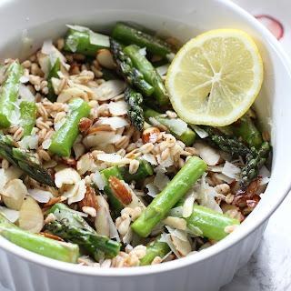 Farro and Asparagus Salad.