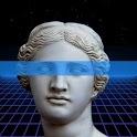 Retrogram 🌴: Retrowave Photo, GIF & Text Maker icon