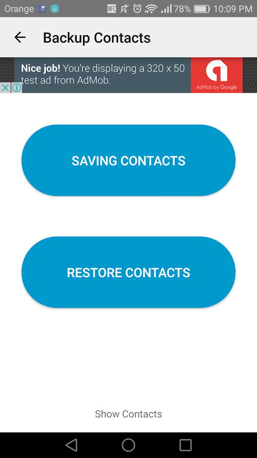 Easy Backup Contacts Android Apps On Google Play