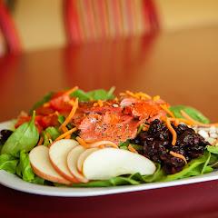 Wild Smoked Salmon Salad