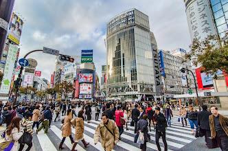 Photo: Shibuya Crossing on a cold November Day