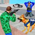 Police Dog Gangster Crime Chase: Police Dog Games icon