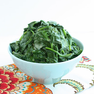 Coconut Creamed Spinach (Low Carb and Gluten Free).