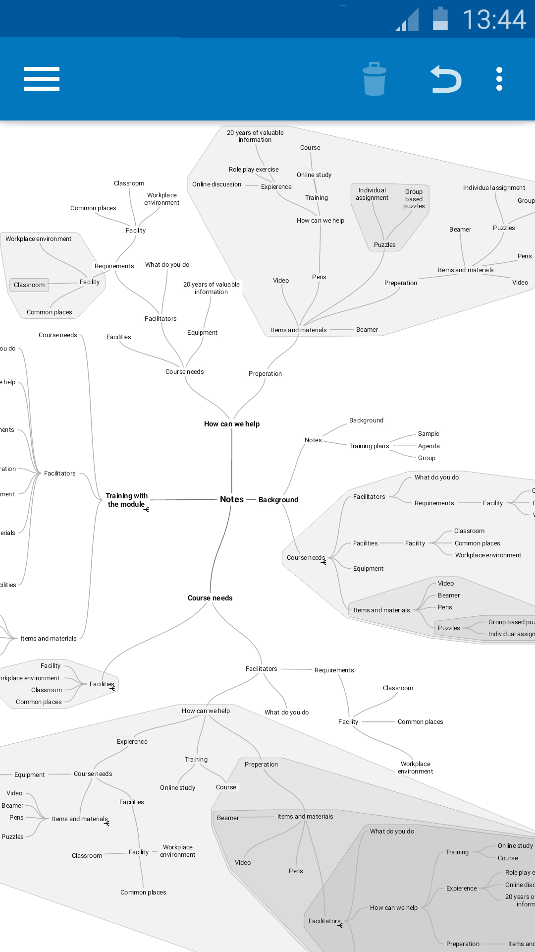 SimpleMind Free mind mapping screenshot #4