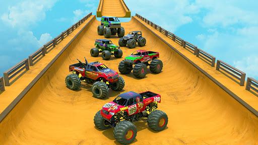 Real Monster Truck Games 2020 - New Car Games 2020 2.0.4 screenshots 8