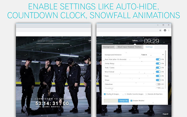 Kpop ATEEZ Wallpaper HD Kpop ATEEZ New Tab