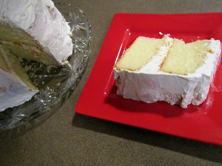 Peachy Keen Cake with Cool Whip Frosting Recipe