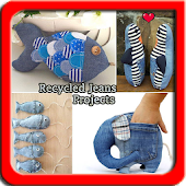 Recycled Jeans Craft Projects