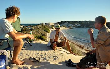 Photo: Camping at Sandy Cape, Jurien Bay, Western Australia