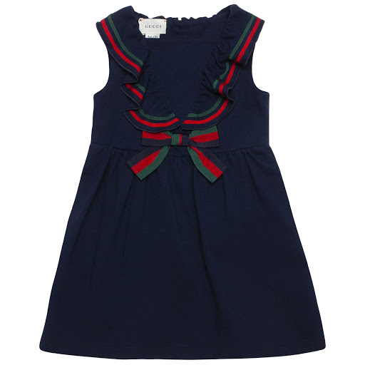 Primary image of Gucci Sleeveless Piqué Dress