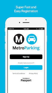 MetroParking- screenshot thumbnail