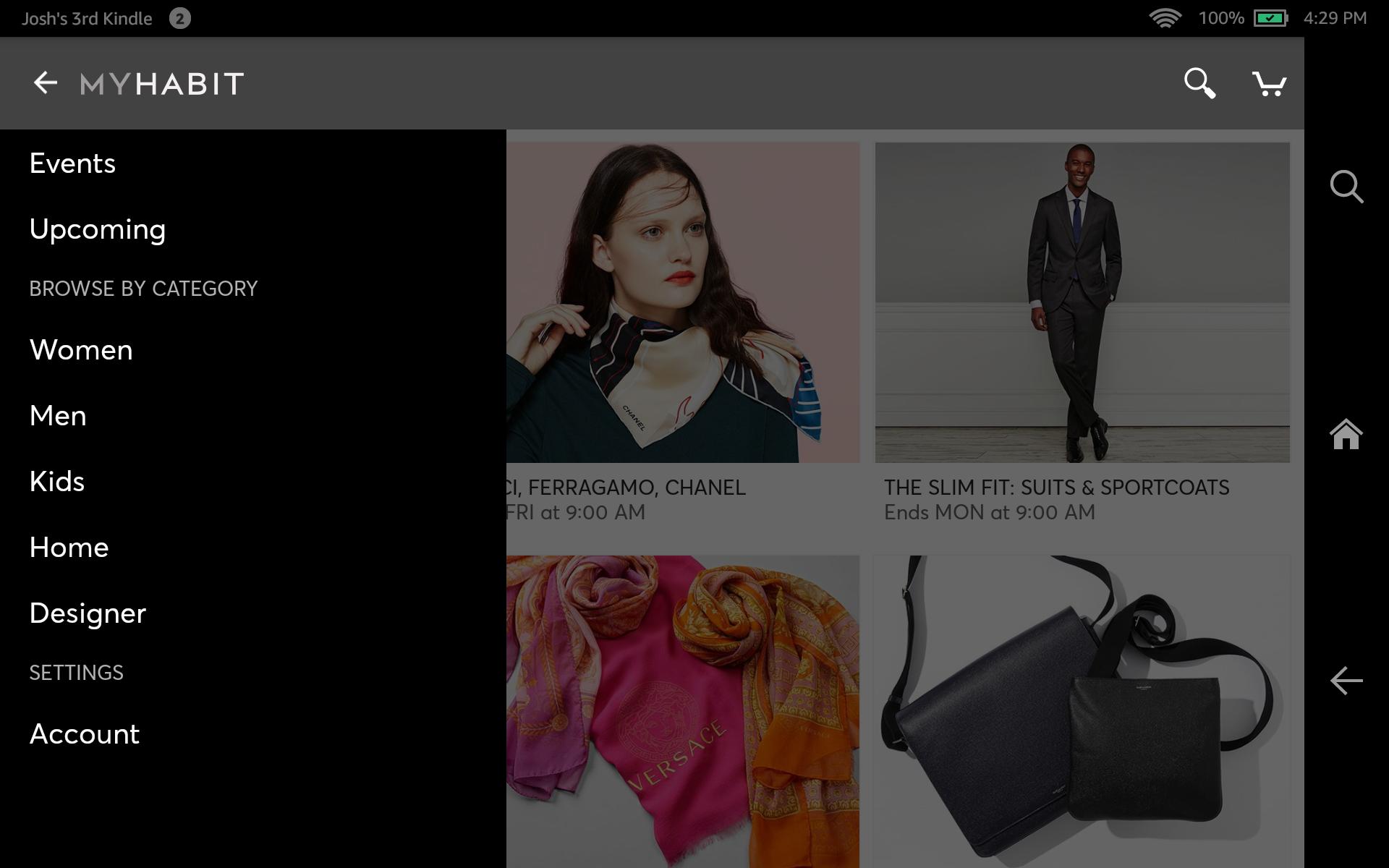 MyHabit – Designer Brands screenshot #9