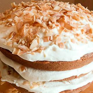 Gluten Free Coconut Carrot Cake.