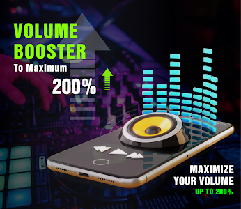 Max Volume Booster – Sound Amplifier & Equalizer 3.6