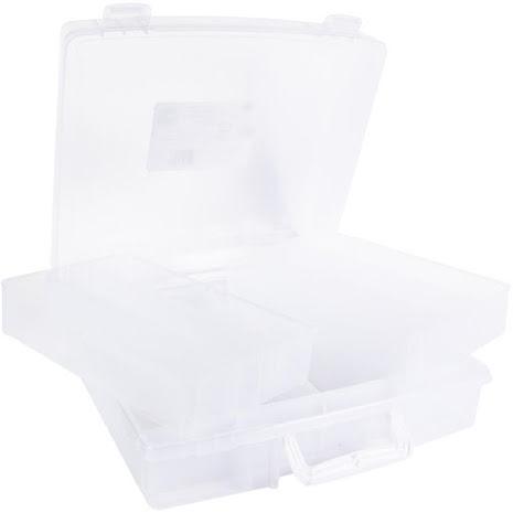 We R Memory Keepers Washi Translucent Plastic Storage Bin