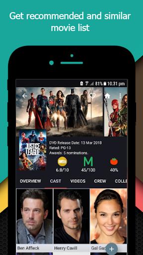 Movie-TV Show Guide (TMDb) 2.3 screenshots 8
